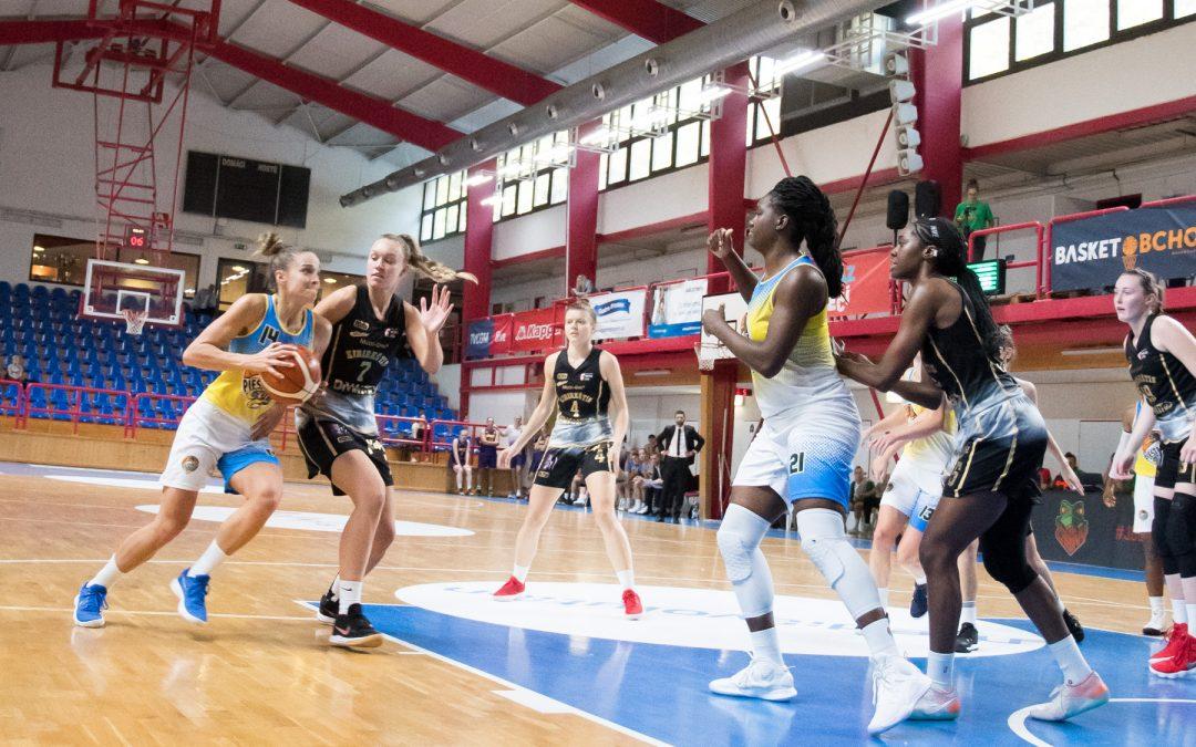 EWBL: Čajky na úvod turnaja v Brne víťazne, Vilnius zdolali 58:42