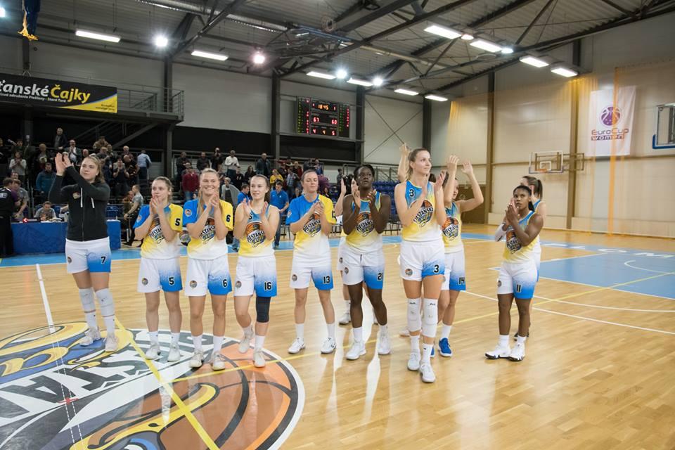 Čajky zdolali Marburg aj druhýkrát a zaistili si účasť vo Final Four CEWL!