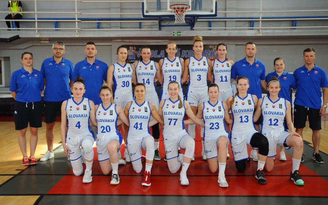 Basketbalové reprezentantky v Piešťanoch proti Česku i Chorvátsku