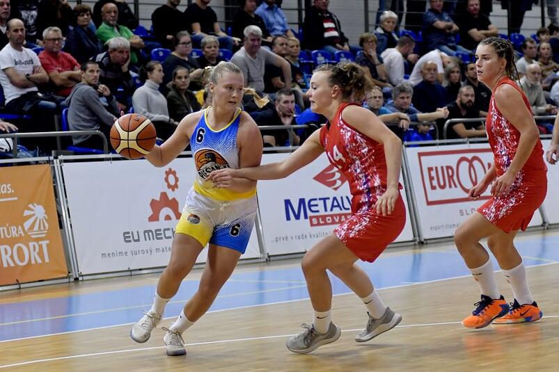 Víťazný vstup do extraligovej sezóny, Čajky zdolali nováčika z Bratislavy 95:50