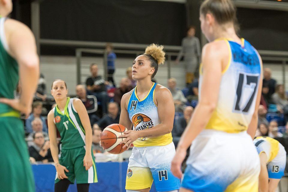 Čajky zdolali aj Šamorín, Jessica January s triple-double