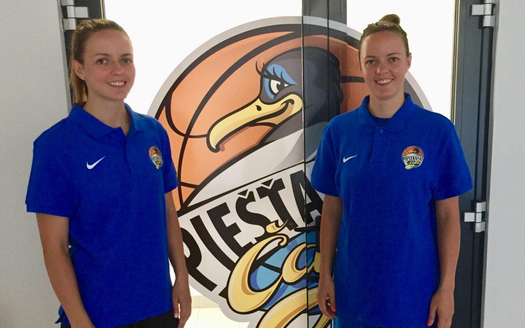 Novými posilami Čajok sú sestry Alexandra Baburová a Dominika Deptová