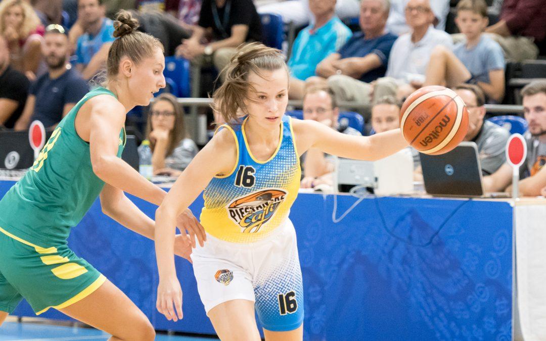 Piešťanské Čajky vs. Šopron Basket