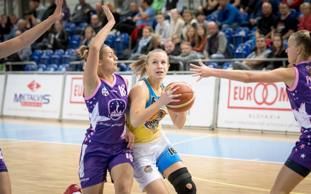 Piešťanské basketbalistky víťazne aj proti Popradu