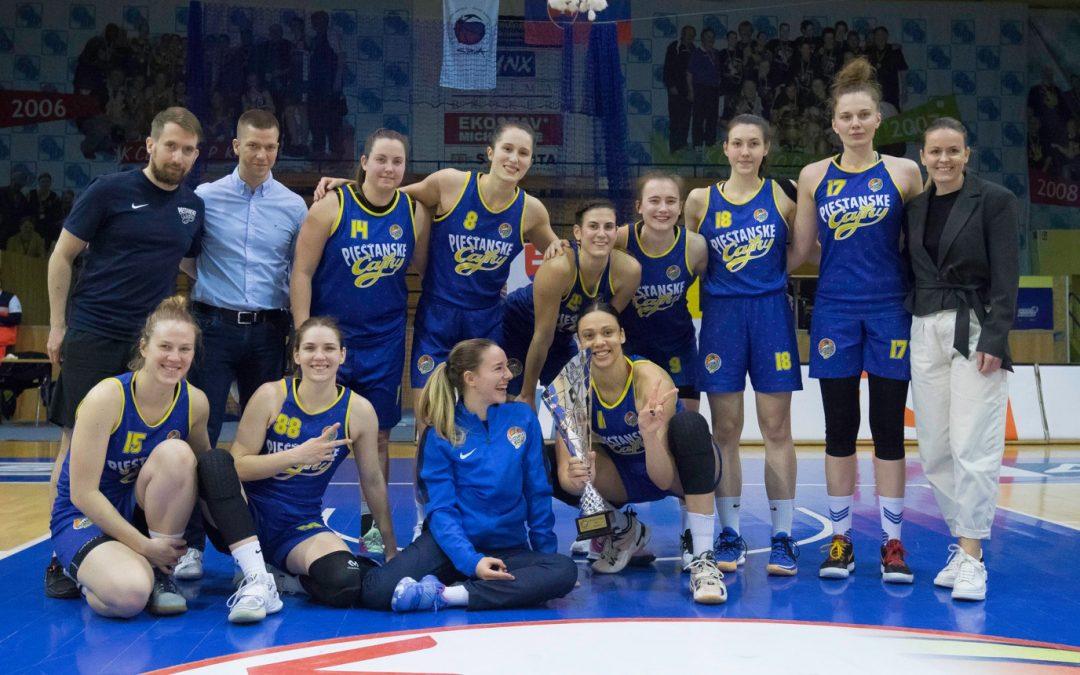 Piešťanské basketbalistky Slovenský pohár nezískali